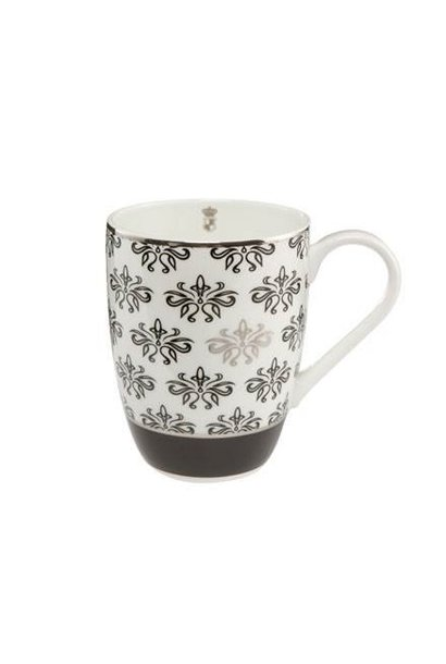 Black and White: Bloemen - Artist's Cup