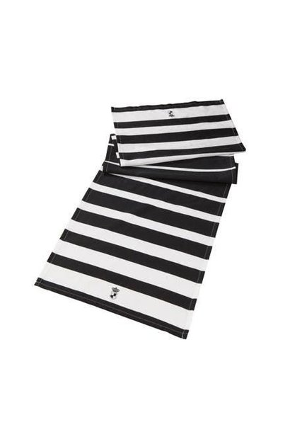 Black and White: Stripes - Tischlaufer