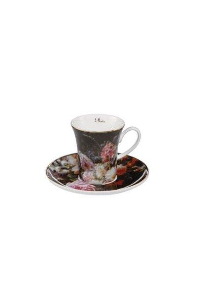 Jean Baptiste Robie: Stilleven met rozen - Espresso Cup