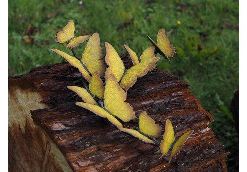 BronzArtes Bronzen Beeld: Zwerm vlinders