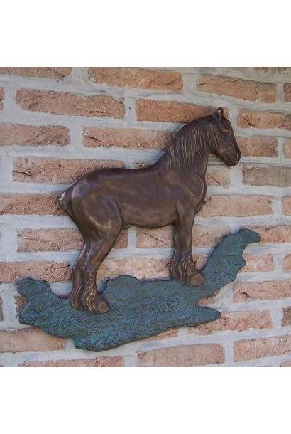 Brabants trekpaard muurdeco