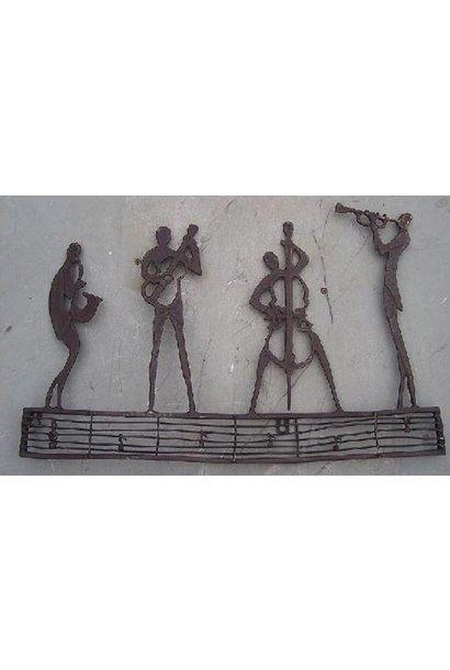 Wanddekoration Jazzclub