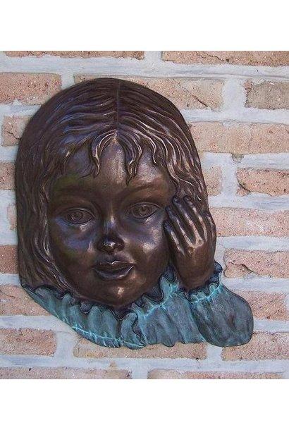 Meisjesgezicht  muurdecoratie