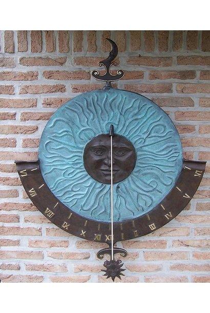 Big sundial wall decoration