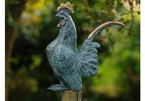BronzArtes Bronzen Beeld: Haan