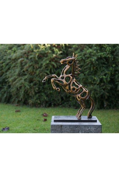 Skulptur aus Pferdedraht