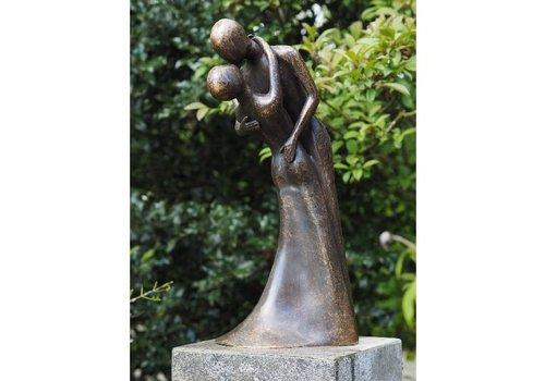BronzArtes Bronzestatue: Tanzendes Paar