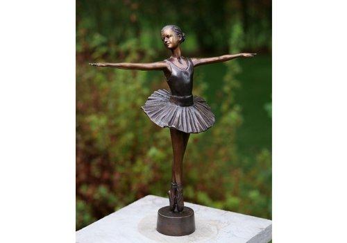 BronzArtes Bronzestatue: Ballerina