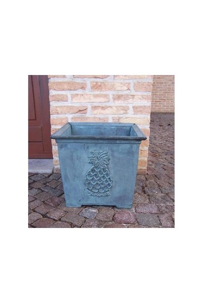 Flower pot with pineapple