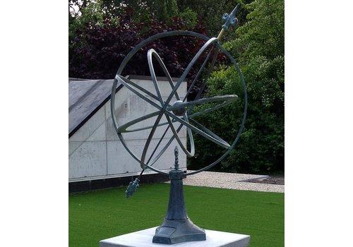 BronzArtes Bronzeskulptur: Sonnenuhr