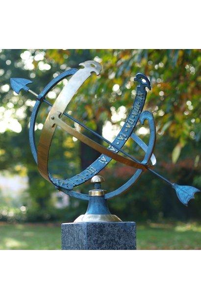 Arrow sundial