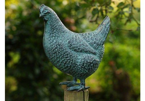 BronzArtes Bronzestatue: Hen