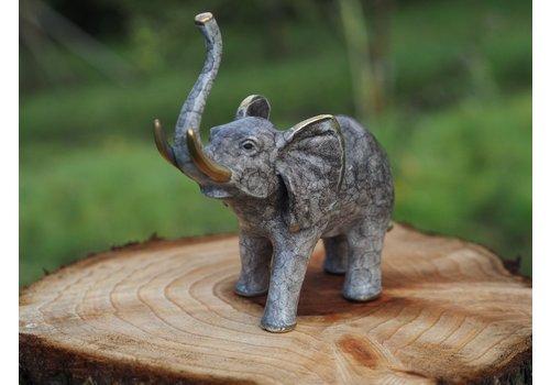 bronZart Small elephant