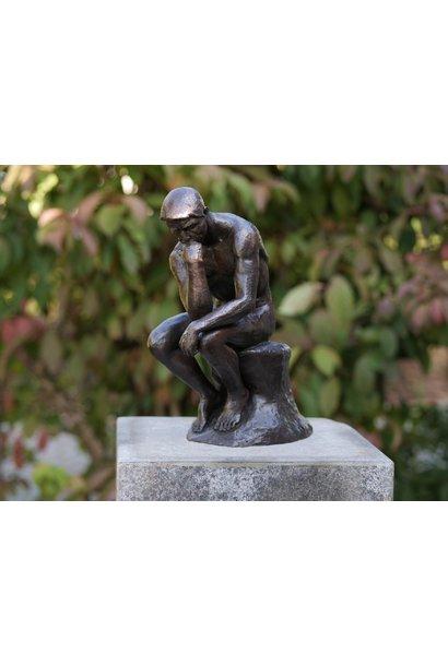 Thinker of Rodin 29 cm.