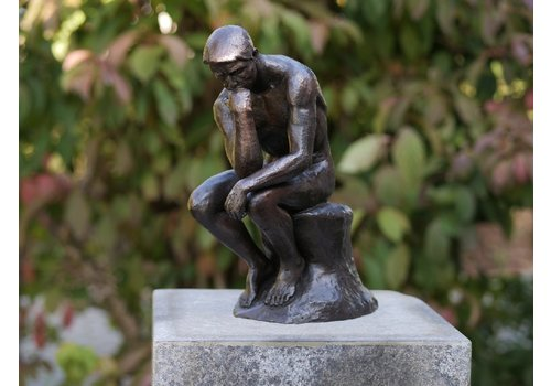 BronzArtes Denker von Rodin 29 cm