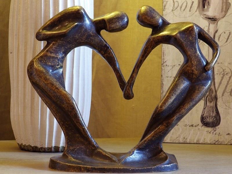 Bronze Statue:   Abstract dancersmall-1