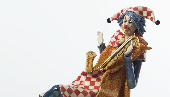 Clowns Keramiek