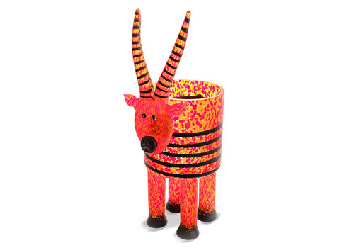 StudioLine ANTILOPE - Vase, rood oranje