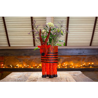 ANTILOPE - Vase, red-orange