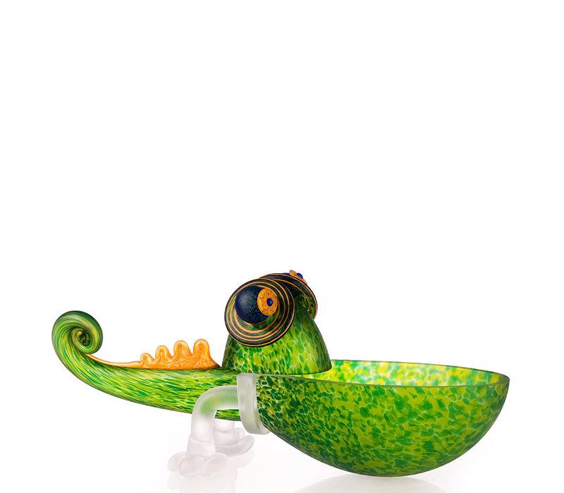 CHAMELEON SMALL - Bowl, green
