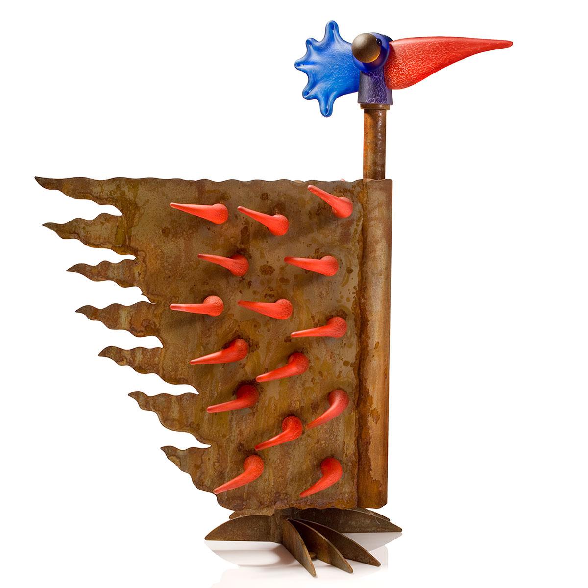 Borowski  FIREBIRD SMALL - Outdoor-object, red-1