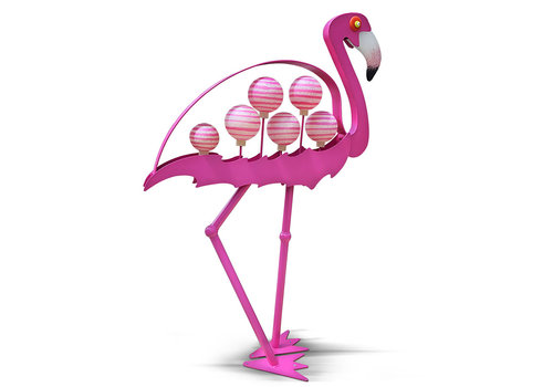 Outdoor Objects FLAMINGO - outdoor object, pink