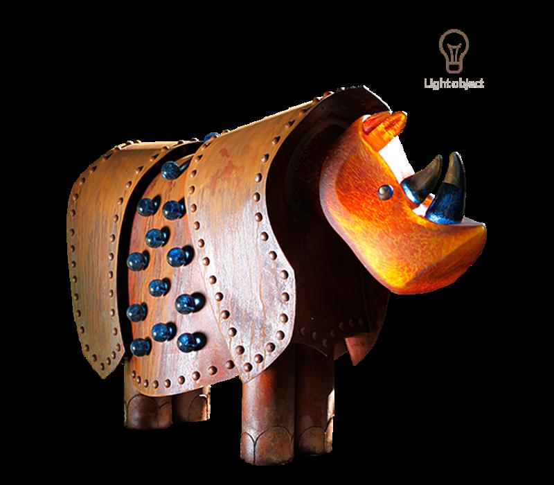 RHINO -  Light object, amber