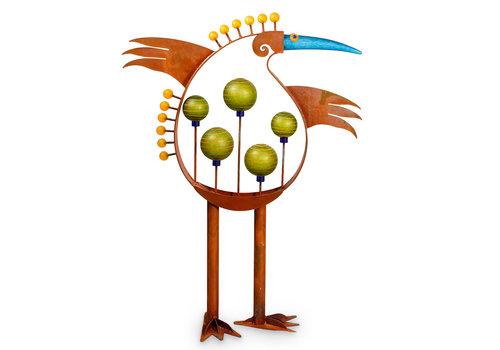 Outdoor Objects LUCKY BIRD - Aussenskulptur, bunt