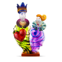 KING & QUEEN - Object, multicolored