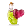 Art Objects LOVE MESSENGER - Object, lime green