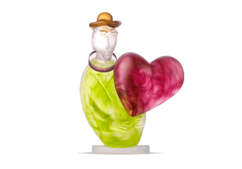 Art Objects LOVE MESSENGER - Objekt, Lime