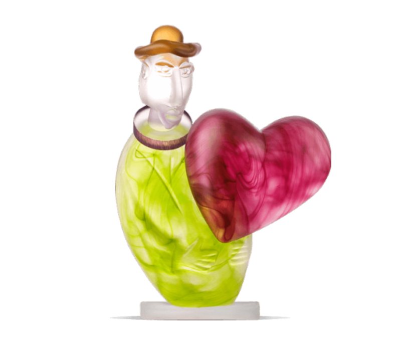 LOVE MESSENGER - Object, lime green