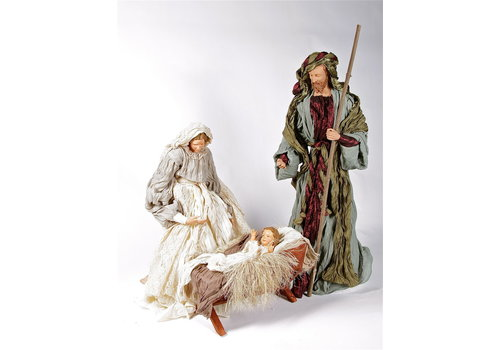 Angels & Co Nativity Set x 3, 90 cm
