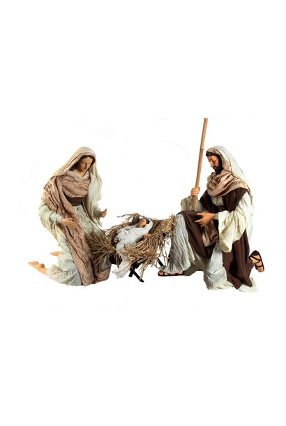 Nativity Set x 3, 120 cm