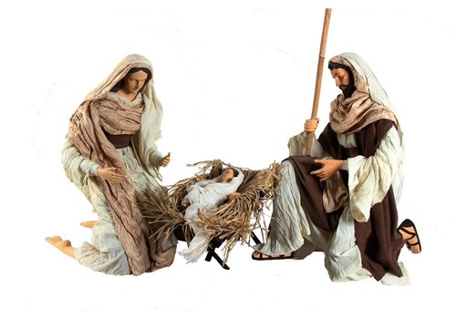 Angels & Co Nativity Set x 3, 120 cm