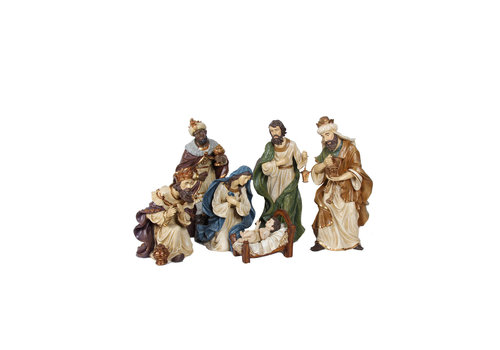 Angels & Co Nativity Set 6 Teilig 66 cm Holy Family
