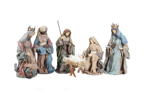 Angels & Co Nativity Set 6 Teilig 80 cm Holy Family