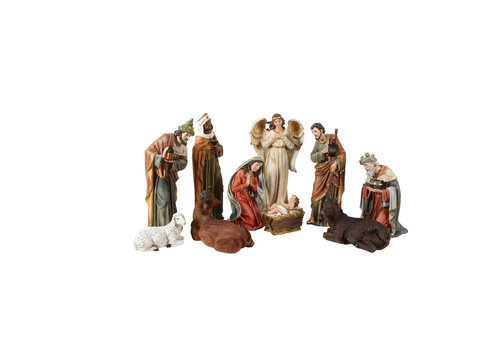 Angels & Co Nativity Set x 11 beelden 60 cm hoog