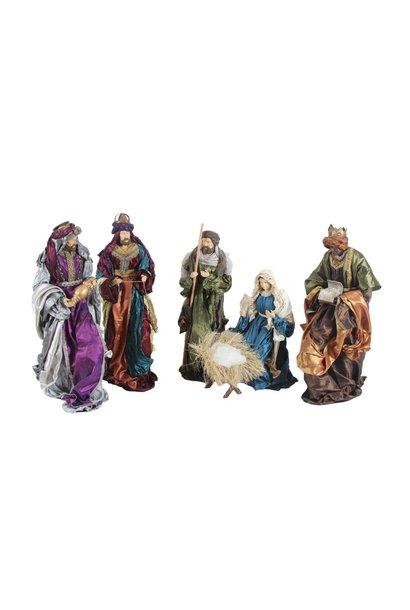 Nativity Baroque, 6 - piece, 60 cm