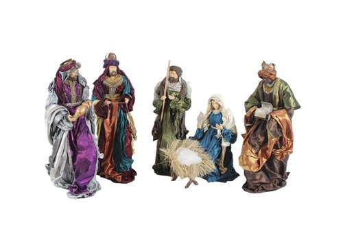 Angels & Co Nativity Baroque, 6 - delig, 60 cm