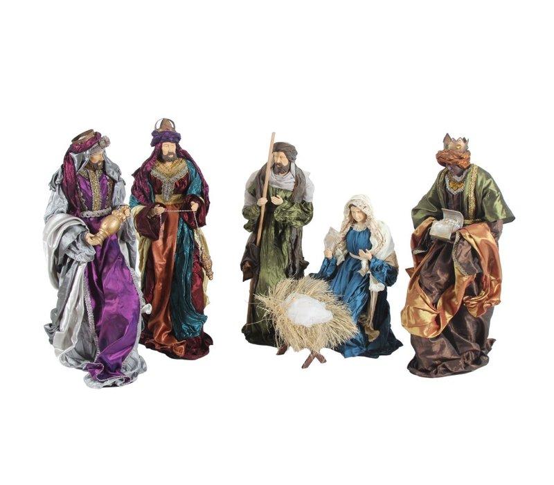 Nativity Baroque, 6 - teilig, 60 cm
