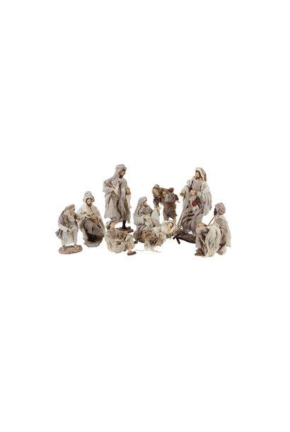 Nativity Set 9 pieces, 35 cm