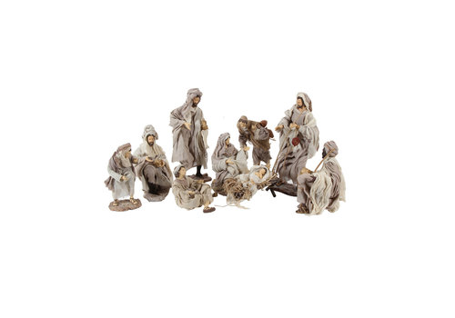 Angels & Co  Nativity Set 9 delig, 35 cm
