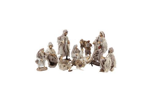 Angels & Co  Nativity Set 9 pieces, 35 cm