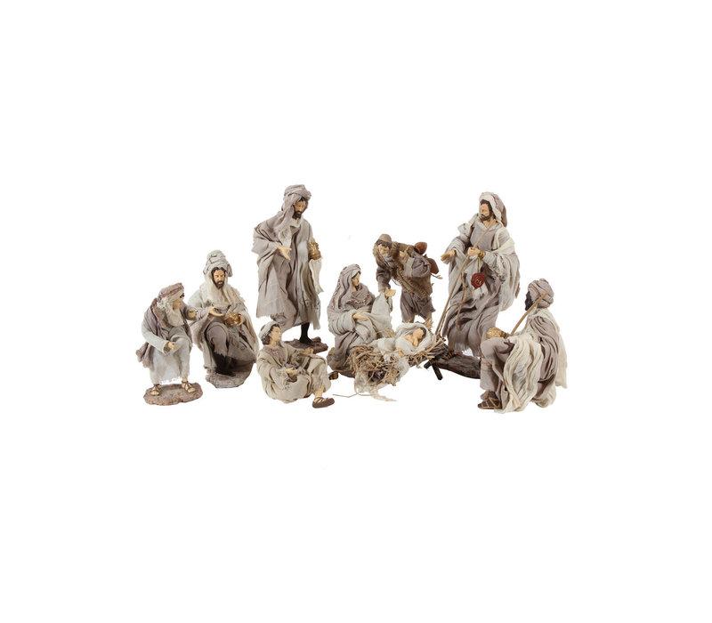 Nativity Set 9 delig, 35 cm