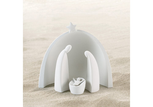Lineasette White Nativity