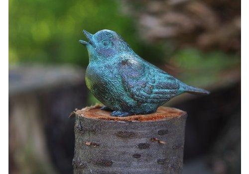 BronzArtes Eine Bronzestatue: Vogel