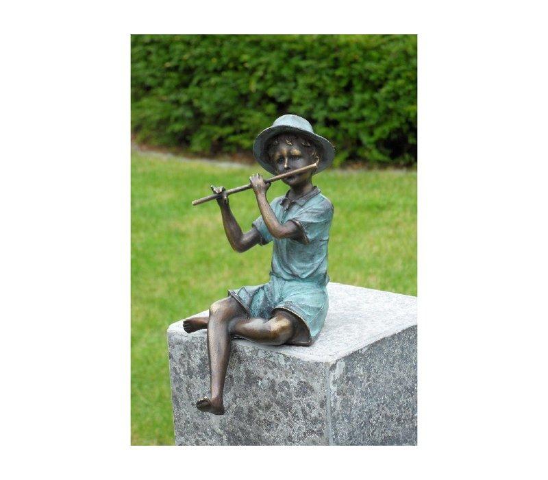 jongen met fluit
