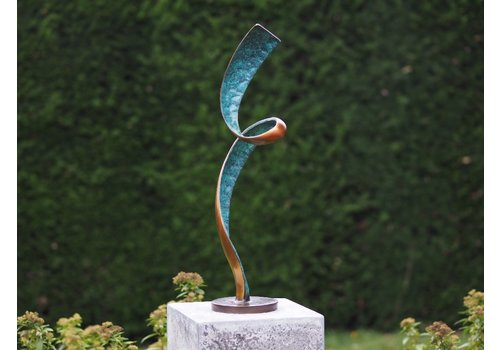 BronzArtes Modern sculpture 'HELIX'