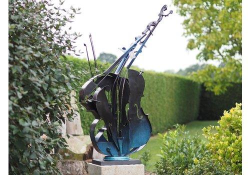 BronzArtes Modern sculpture 'Cello'